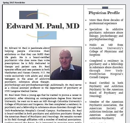 Edward Paul – Worldwide Member Newsletters