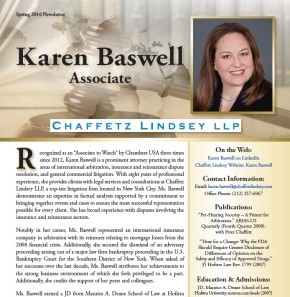 Karen C. Baswell,Esq.