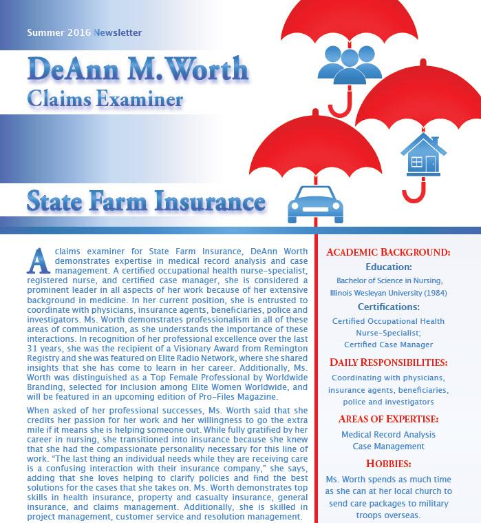 Deann M Worth Worldwide Member Newsletters