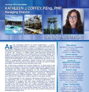 Kathleen J. Coffey, P.Eng.,PMP