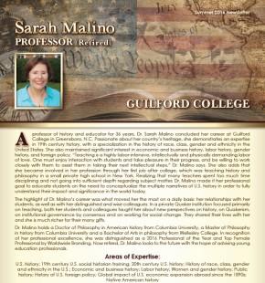 Sarah Smith Malino