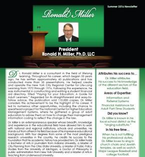 Ronald H. Miller,Ph.D.